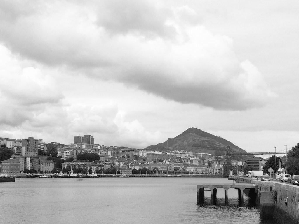 Ría de Bilbao desde Lamiako