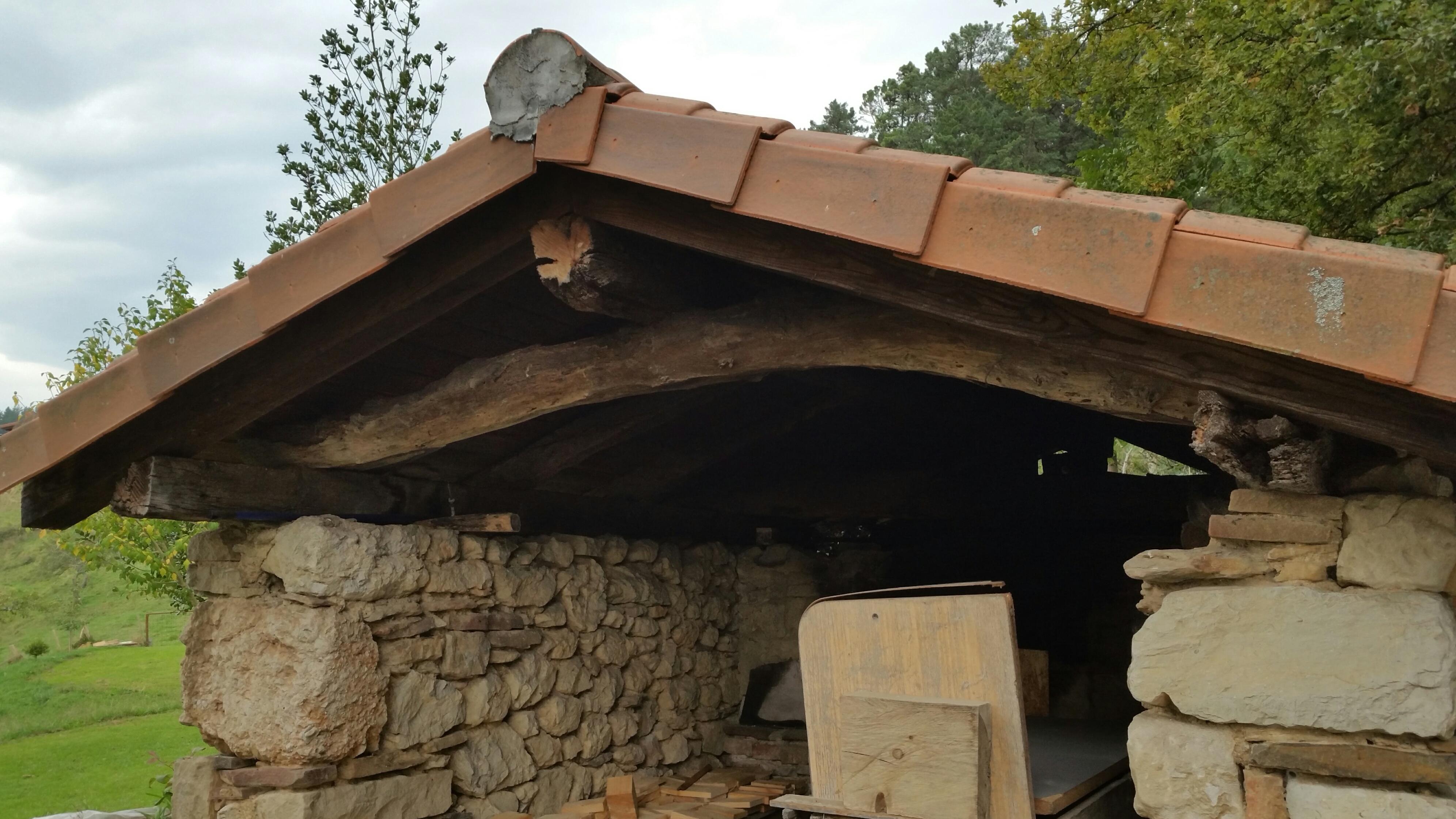 Horno de piedra de bizkornako ogia - Horno de piedra ...