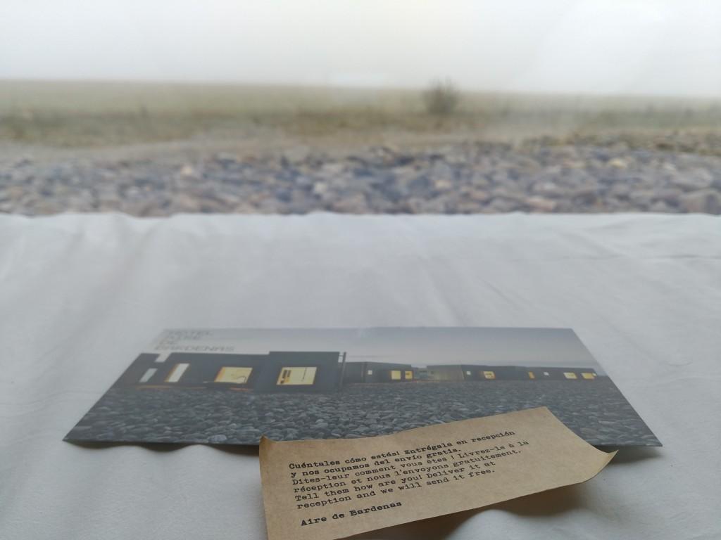 postal-y-vistas-del-hotel-aire-de-bardenas