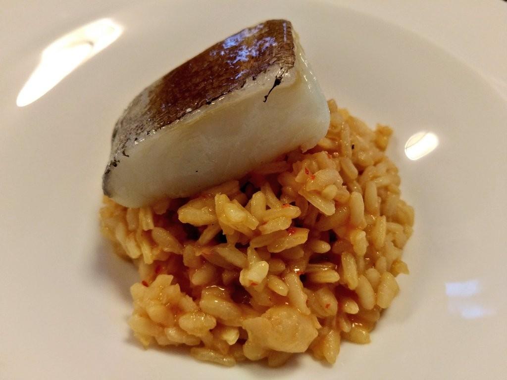 Arroz con bacalao restaurante Abiaga