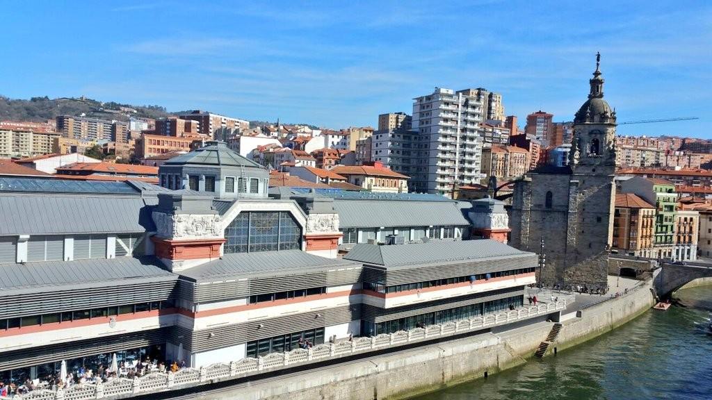 Mercado d la Ribera de Bilbao