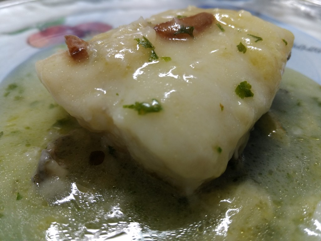 Merluza en salsa verde de ama