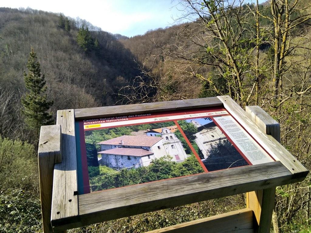 Camino natural senda del pastorei Leintz Gatzaga