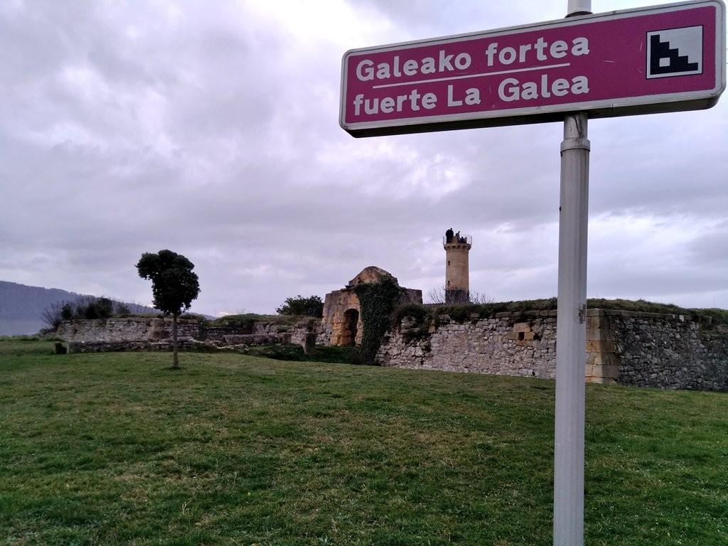 Carte del fuerte de La Galea