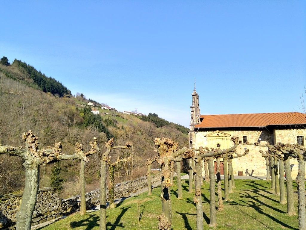 Entorno Santuario de Dorleta en Leintz Gatzaga