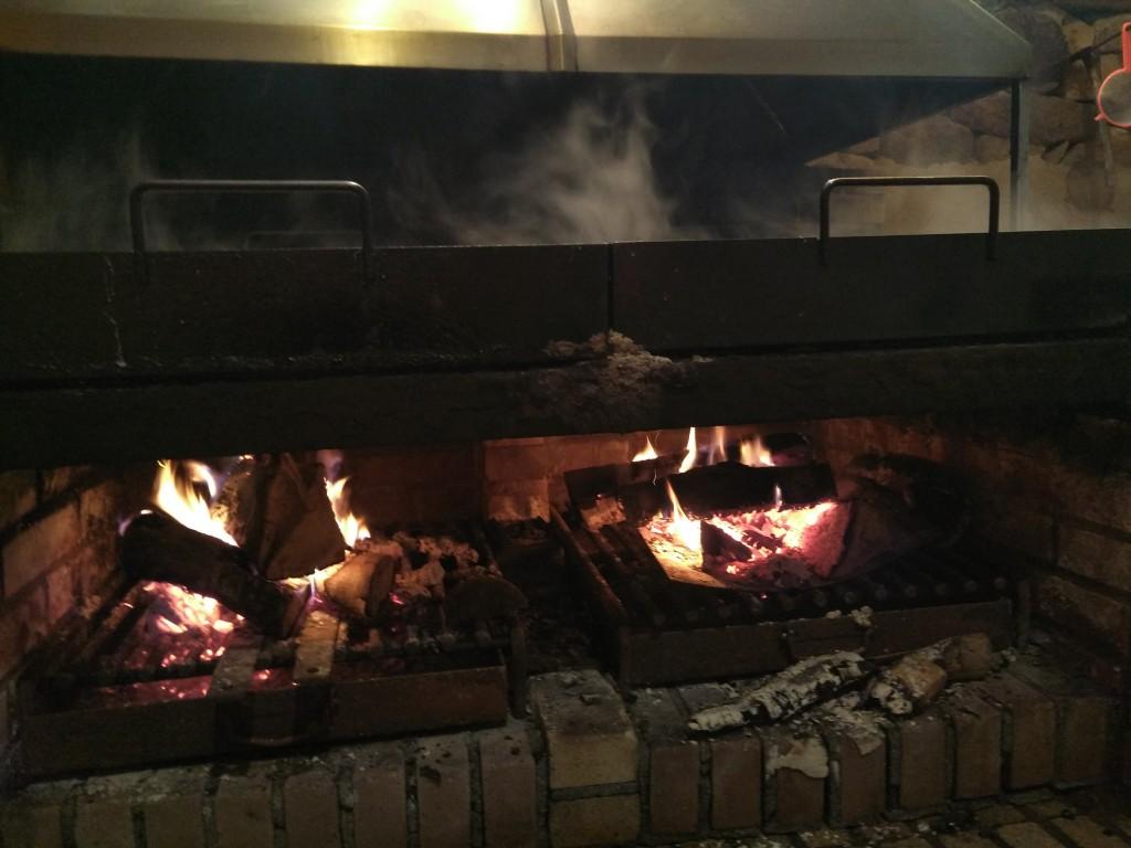 Fuego en las dorlas de Leintz Gatzaga