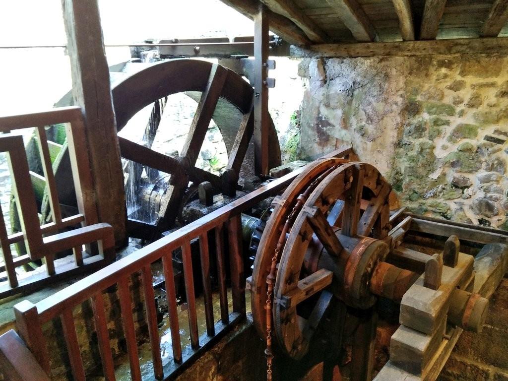 Mecanismo Museo de la sal Leintz Gatzaga