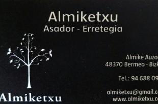 Almiketxu, tarjeta