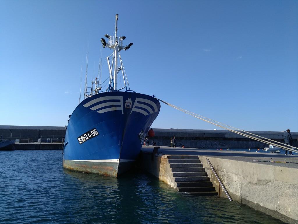 Barco pesquero, Bermeo