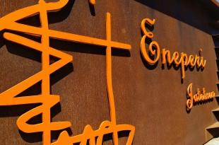 Cartel restaurante Eneperi