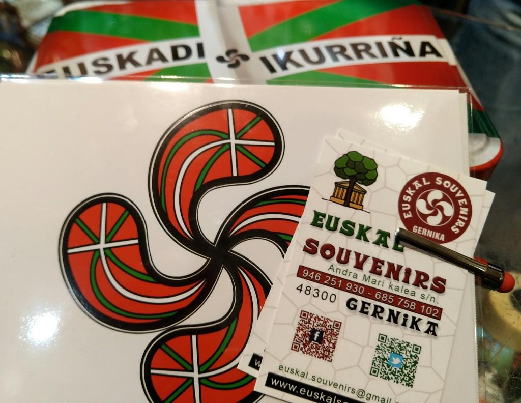 Detalle Euskal Souvenirs