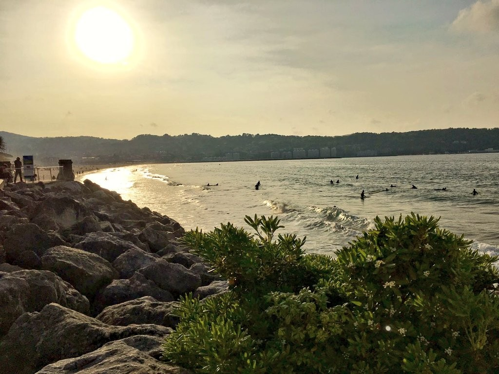 Hendaia playa