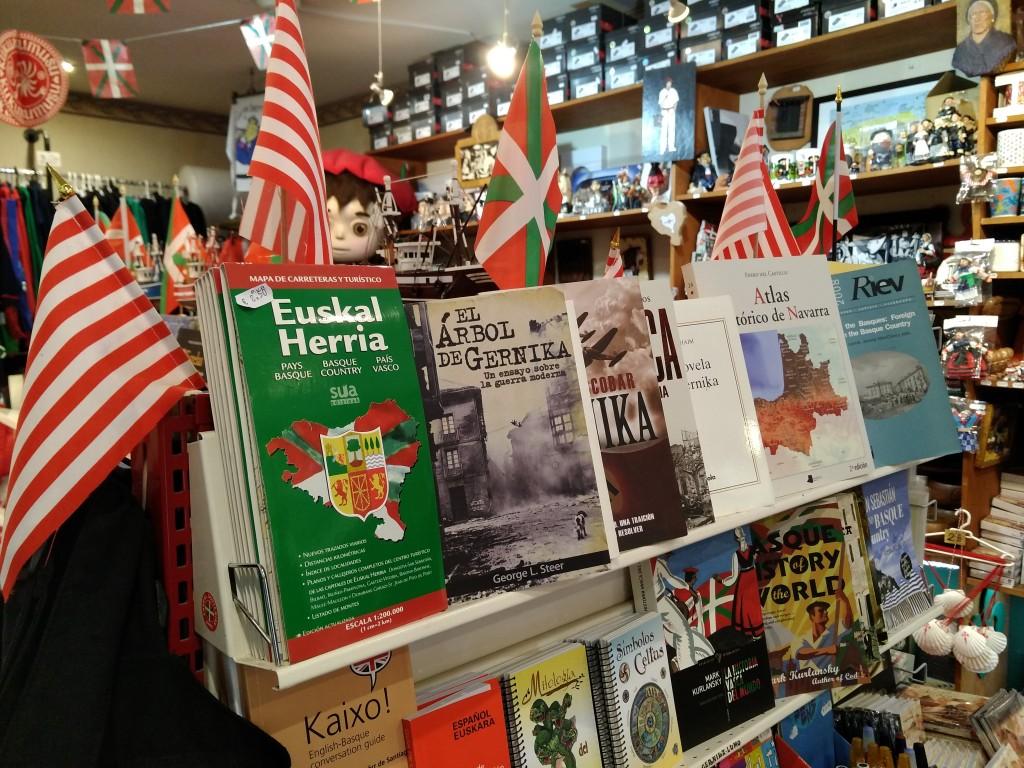 Libros de Euskal Herria, souvenirs