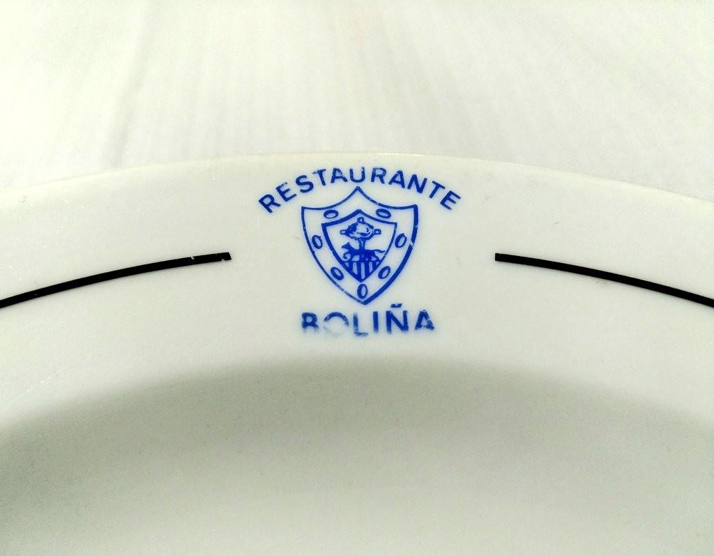 Plato del restaurante Boliña El viejo, Gernika
