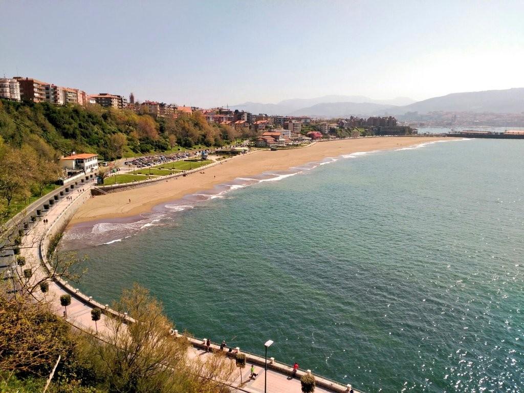 Playa Ereaga, Getxo