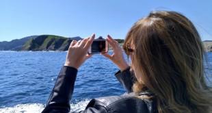 Sacando fotos Urdaibai, Hegaluze