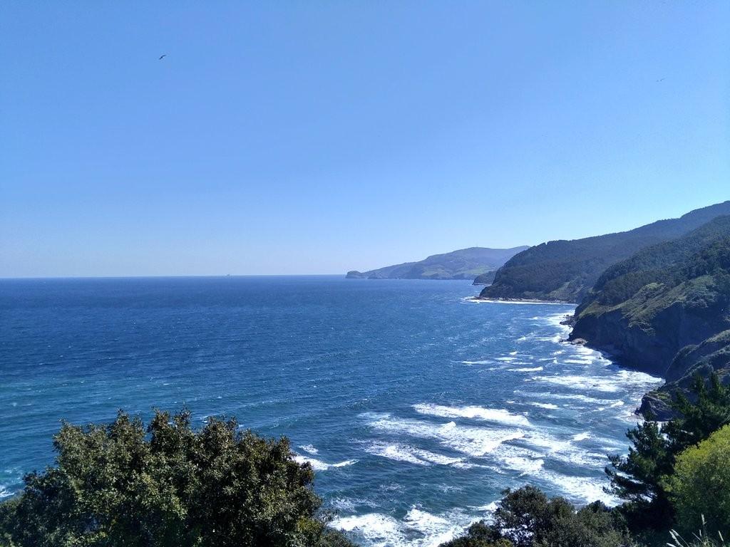 Vistas desde el camino de San Juan de Gaztelugatxe