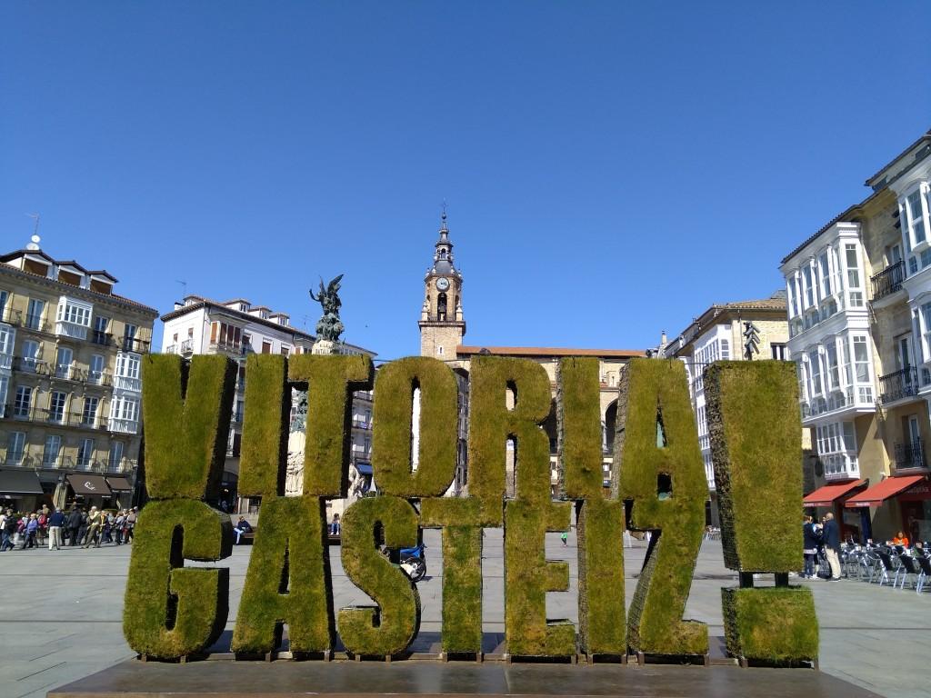 Vitoria-Gasteiz verde cartel