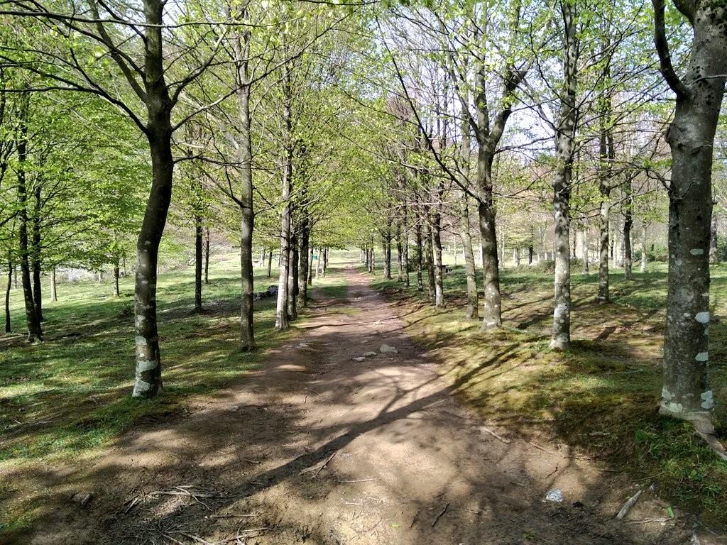 Camino Ojo de Atxulaur, Gorbeia