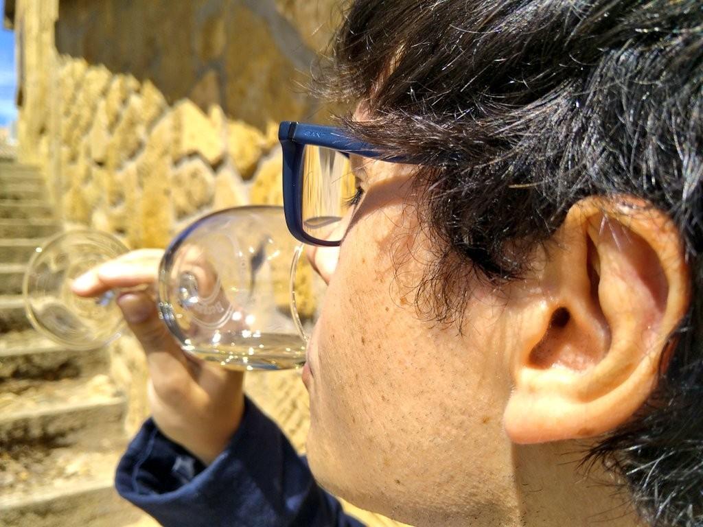 Cata de los vinos de Alútiz