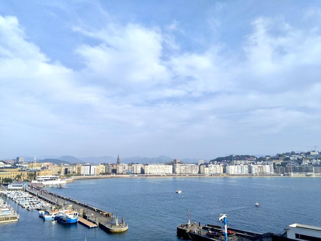 Donostia-San Sebastian desde las alturas
