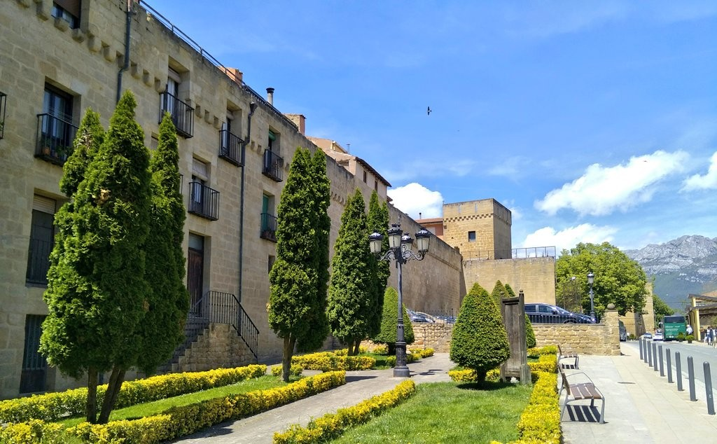 Exterior de Laguardia, Rioja Alavesa