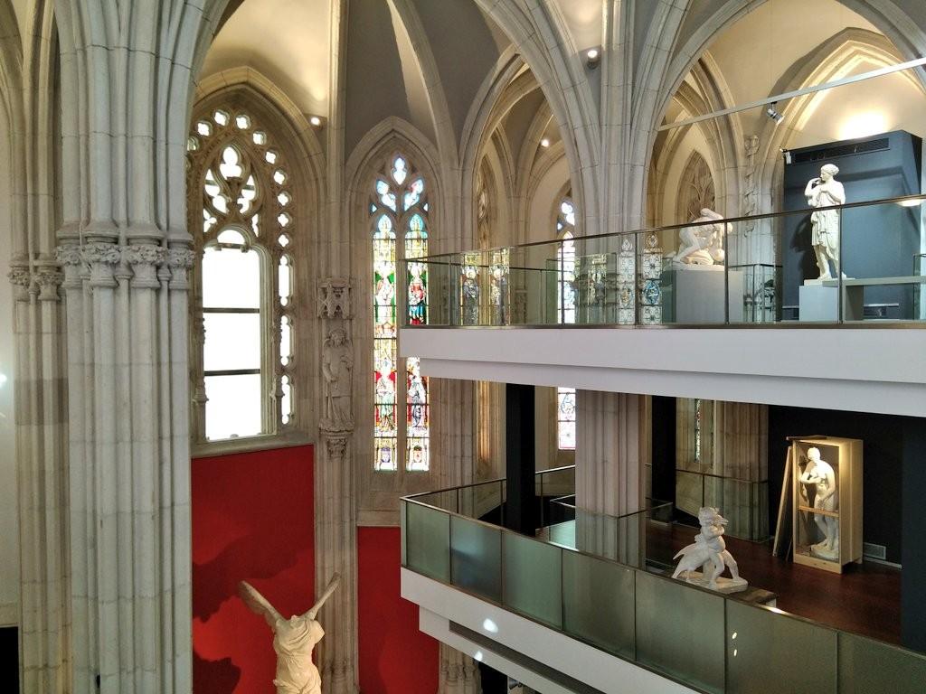 Interior Museo de reproducciones de Bilbao