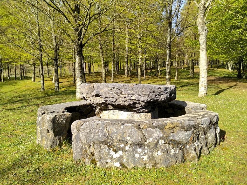 Mesa en Pagomakurre, Gorbeia
