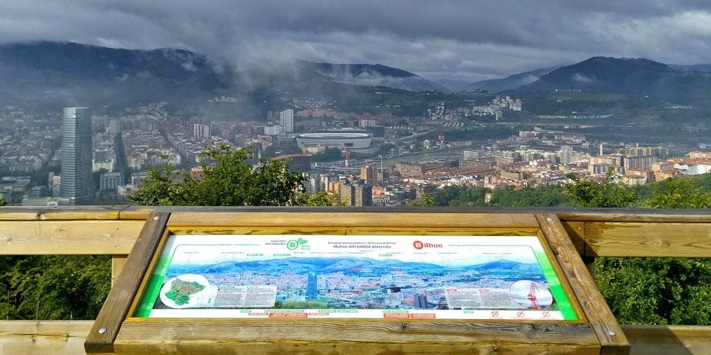Mirador Artxanda en Bilbao