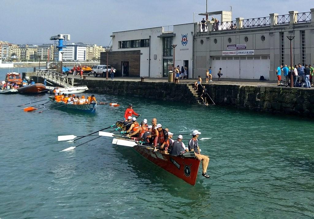 Trainera puerto Donosti