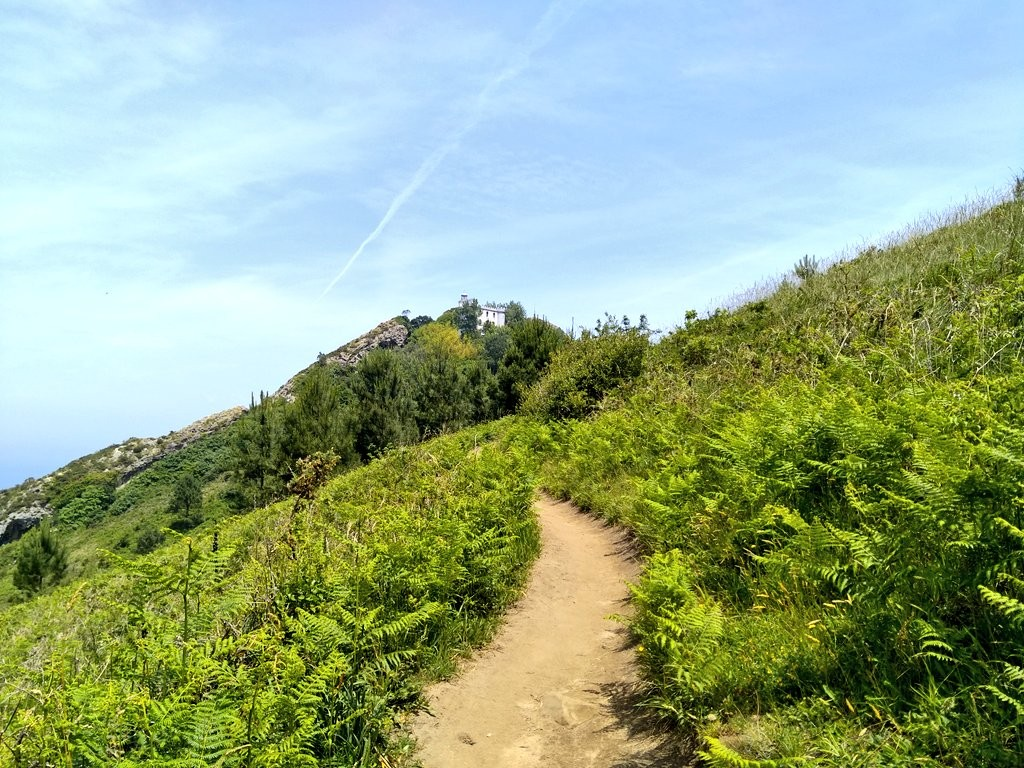 Camino al faro de la plata, ruta Ulia-Pasaia por el faro de la plata