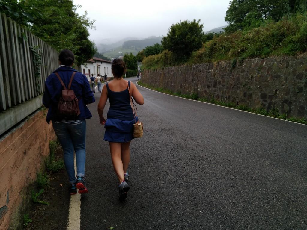 Carretera Bermeo - San Juan de Gaztelugatxe