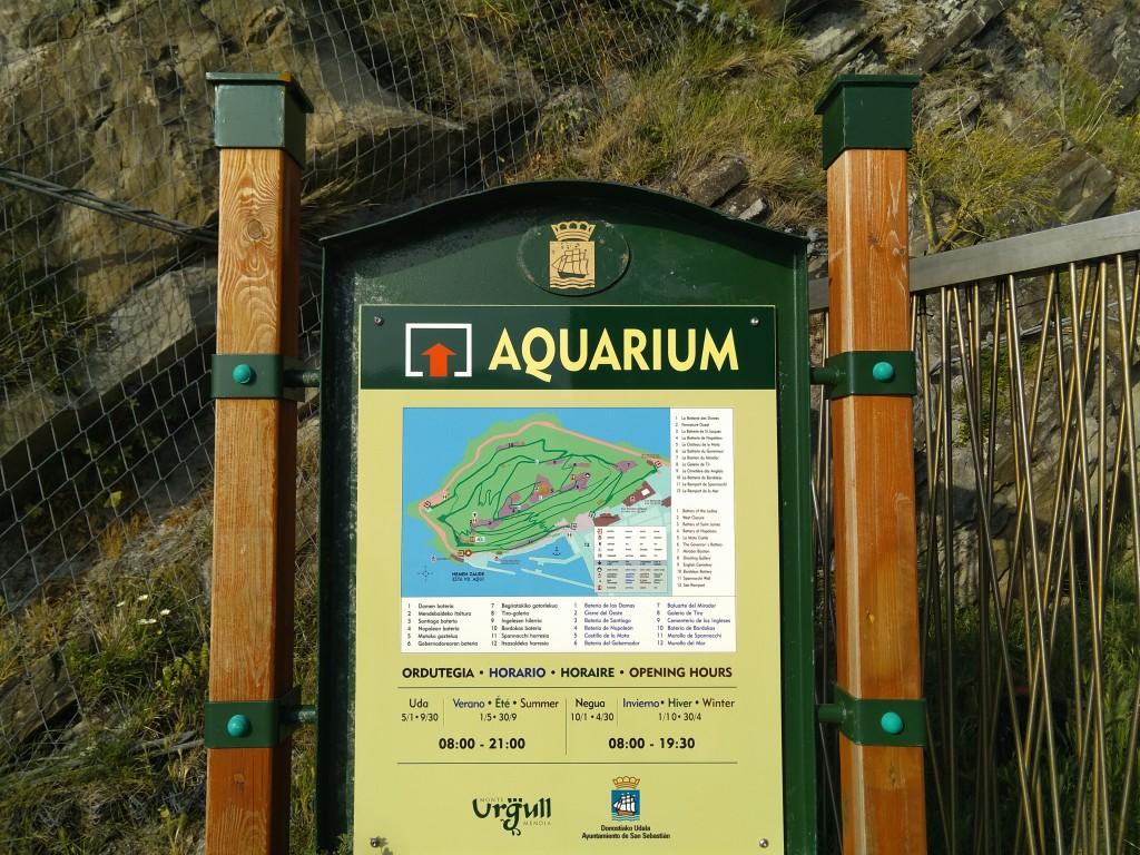 Cartel Aquarium Donostia