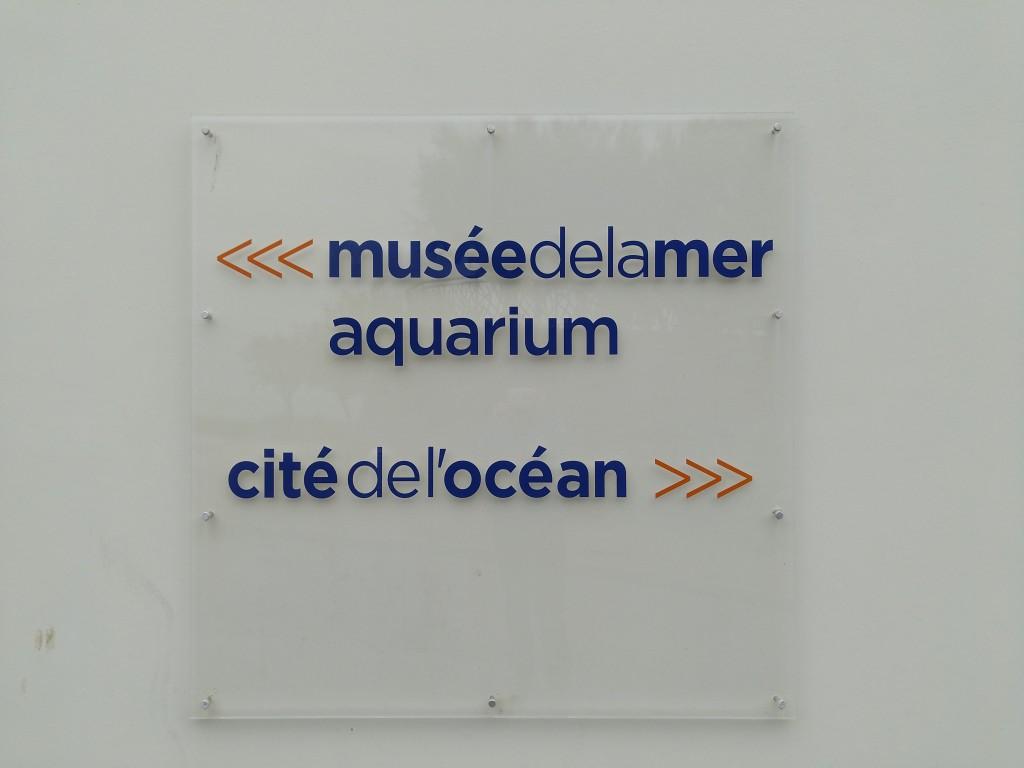 Cartel del Aquarium de Biarritz