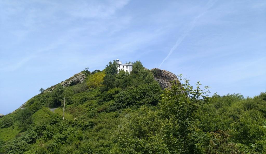 Faro de la plata, ruta Ulia-Pasaia por el faro de la plata