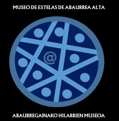 Logo museo de estelas de Abaurrea Alta