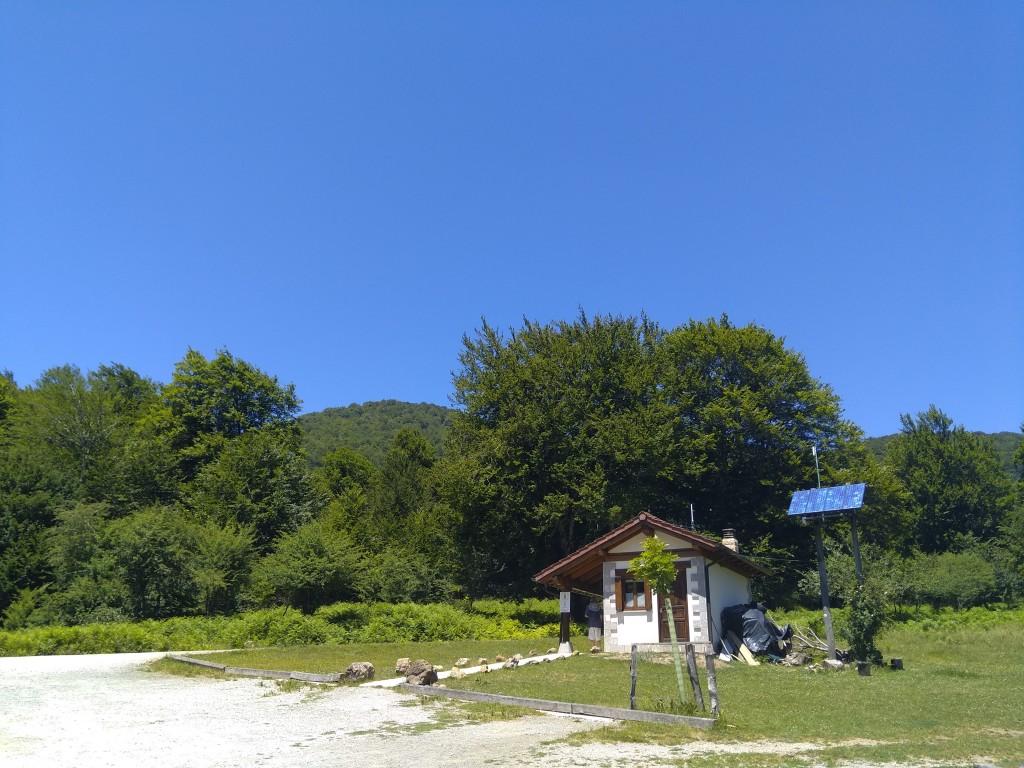Oficina de información de la Selva de Irati en Orbaitzeta