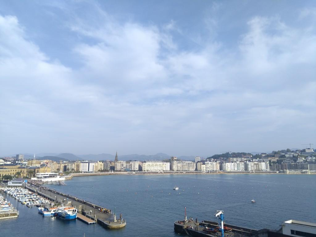 Vista Panoramica de Donostia desde el Aquarium