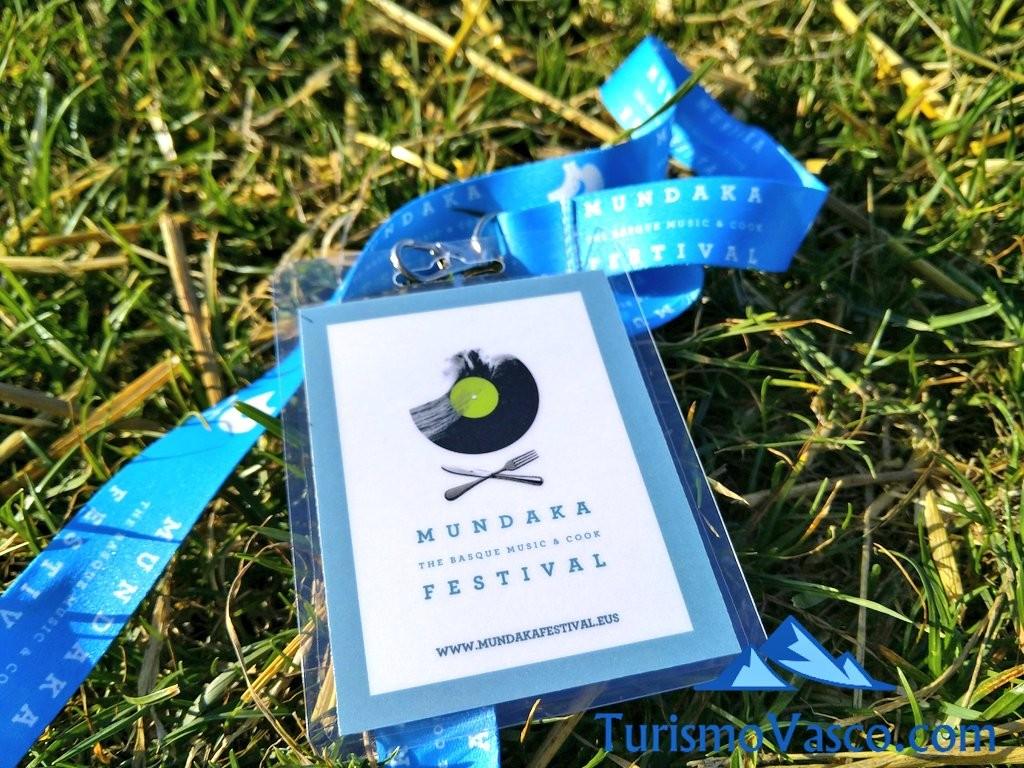 Acreditación Mundaka Festival