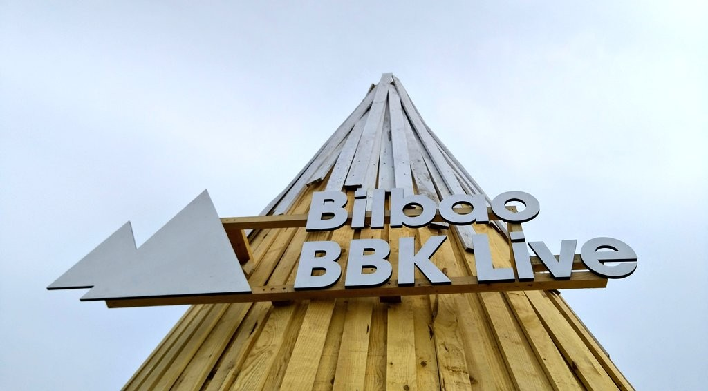 Bilbao BBKlive cartel