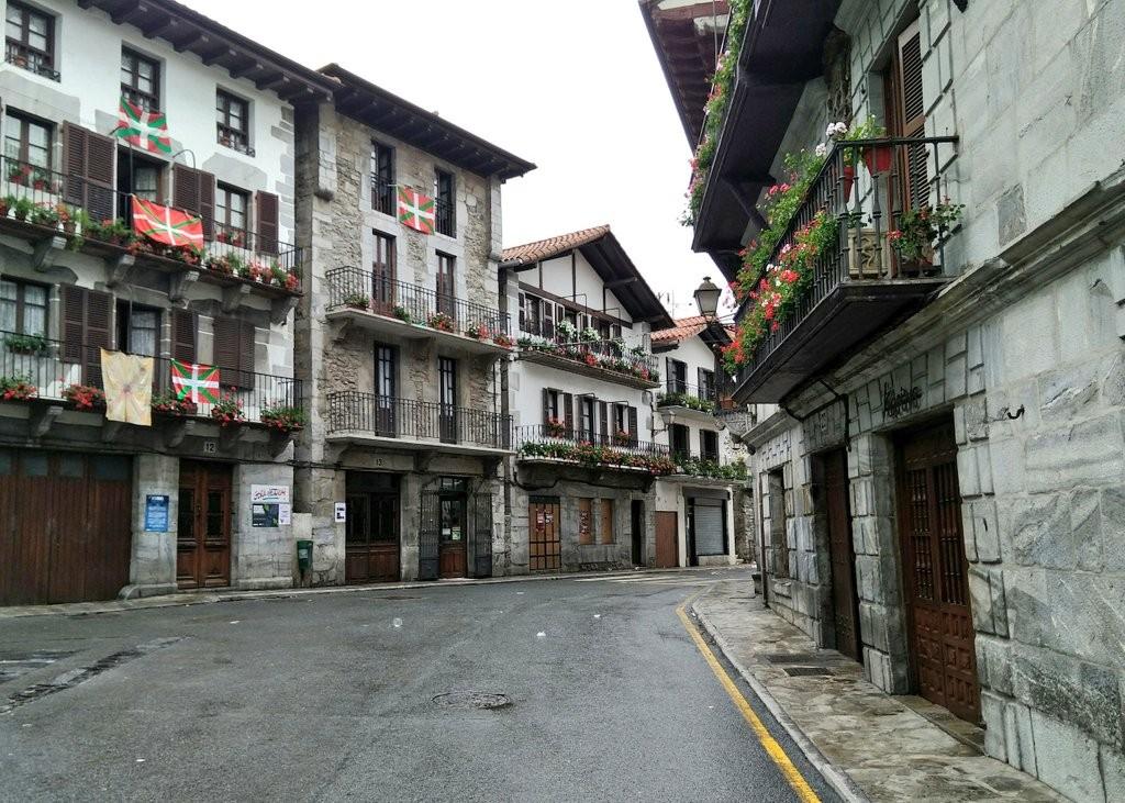 Calles de Lesaka