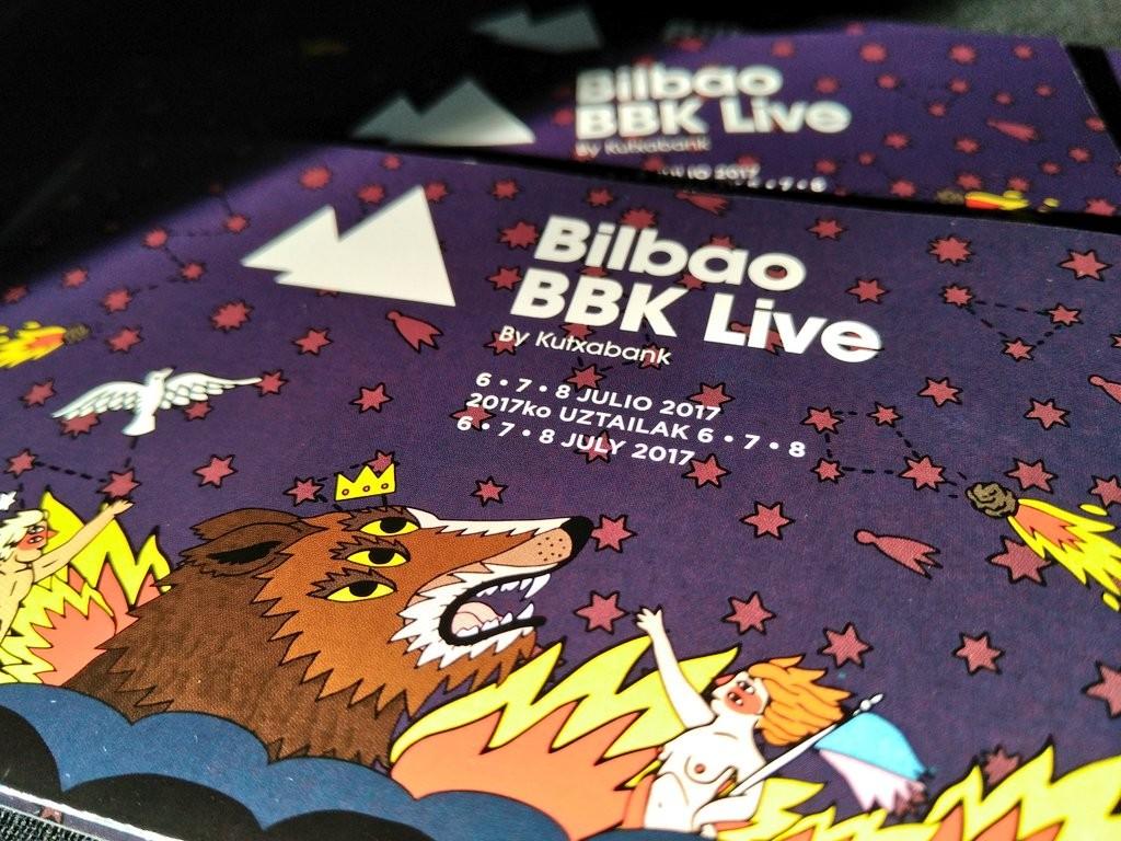 Cartel Bilbao BBK live