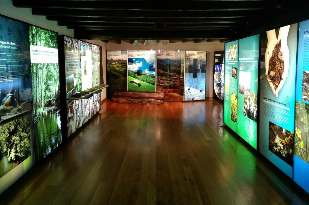 Centro de interpretación del Jardín del Parque Natural del señorio de Bertiz