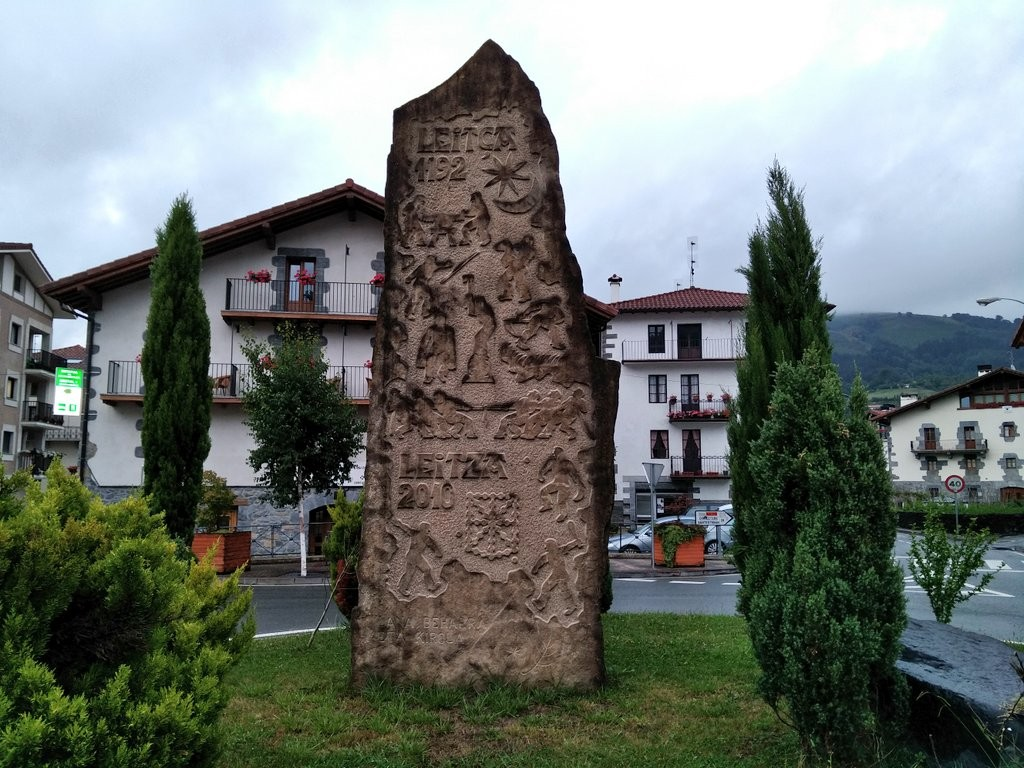 Escultura en Leitza