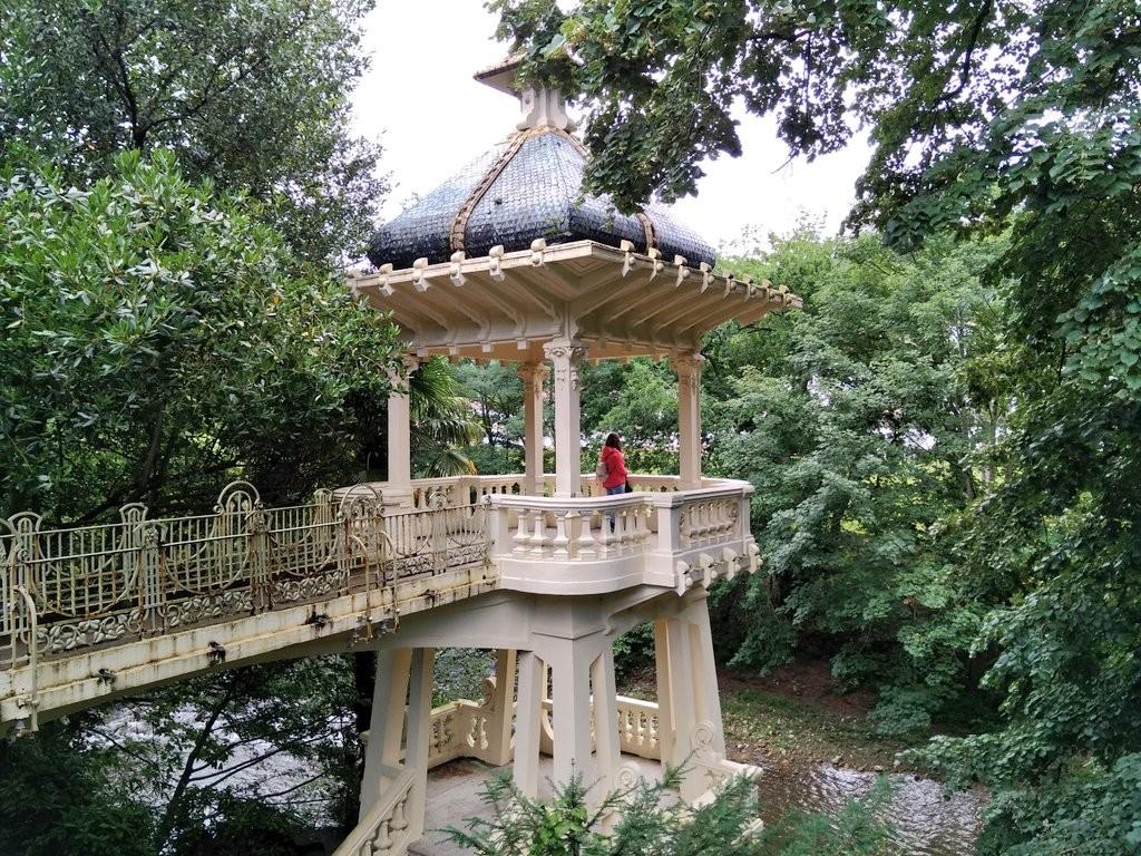 Mirador del Jardín del Parque Natural del señorio de Bertiz