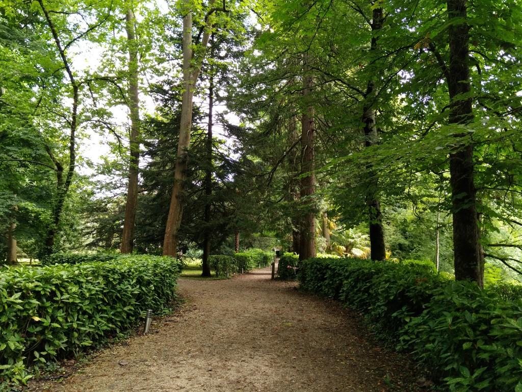 Paseo del Jardín del Parque Natural del señorio de Bertiz