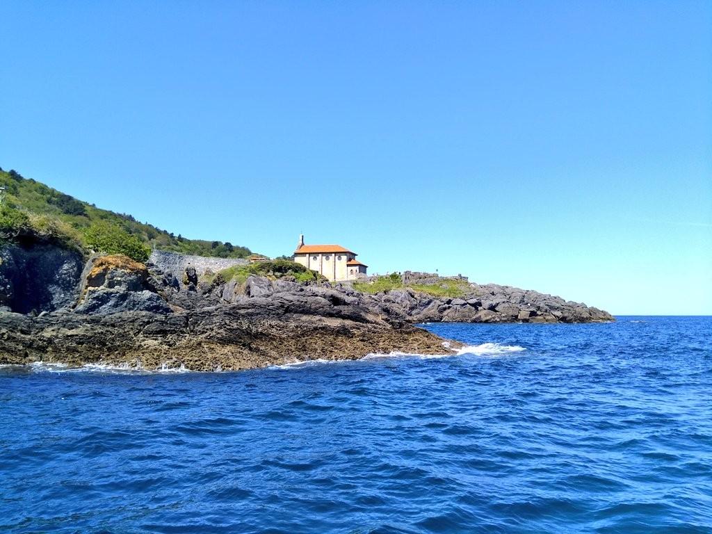 Peninsula de Santa Katalina en Mundaka