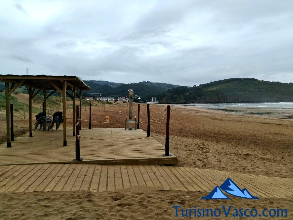 Playa de La Arena, Zierbena y Muskiz