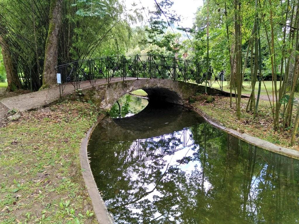 Puente del Jardín del Parque Natural del señorio de Bertiz