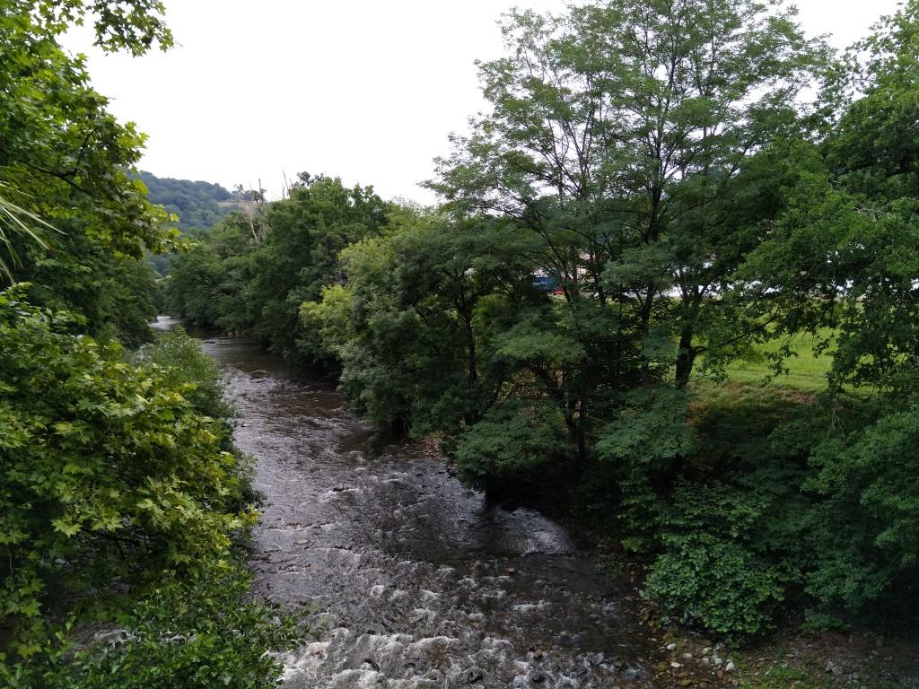Río Bidasoa, Jardin Señorio de Bertiz